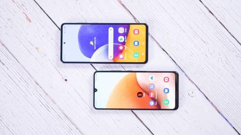 Обзор Samsung Galaxy A32 и A72: как делать надо и как не надо (samsung galaxy a32 a72 23)