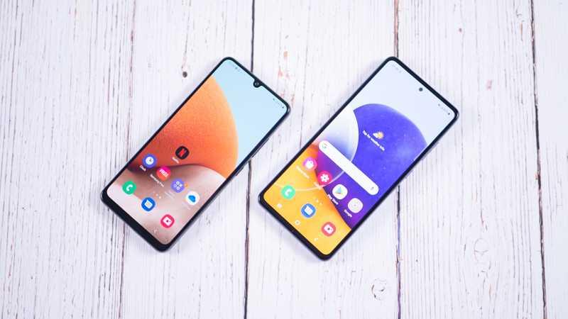 Обзор Samsung Galaxy A32 и A72: как делать надо и как не надо (samsung galaxy a32 a72 3)