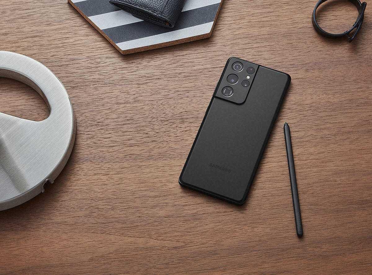 Самые интересные смартфоны первой половины 2021 года (samsung s21 galaxy ultra lifestyle s pen)
