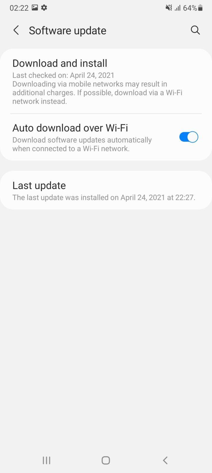 Обзор Samsung Galaxy A32 и A72: как делать надо и как не надо (screenshot 20210426 022222 settings 3)