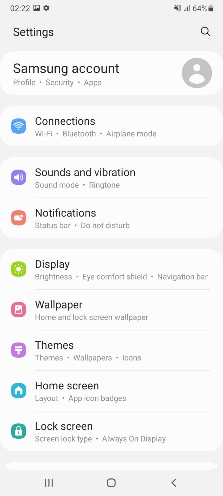 Обзор Samsung Galaxy A32 и A72: как делать надо и как не надо (screenshot 20210426 022227 settings 3)