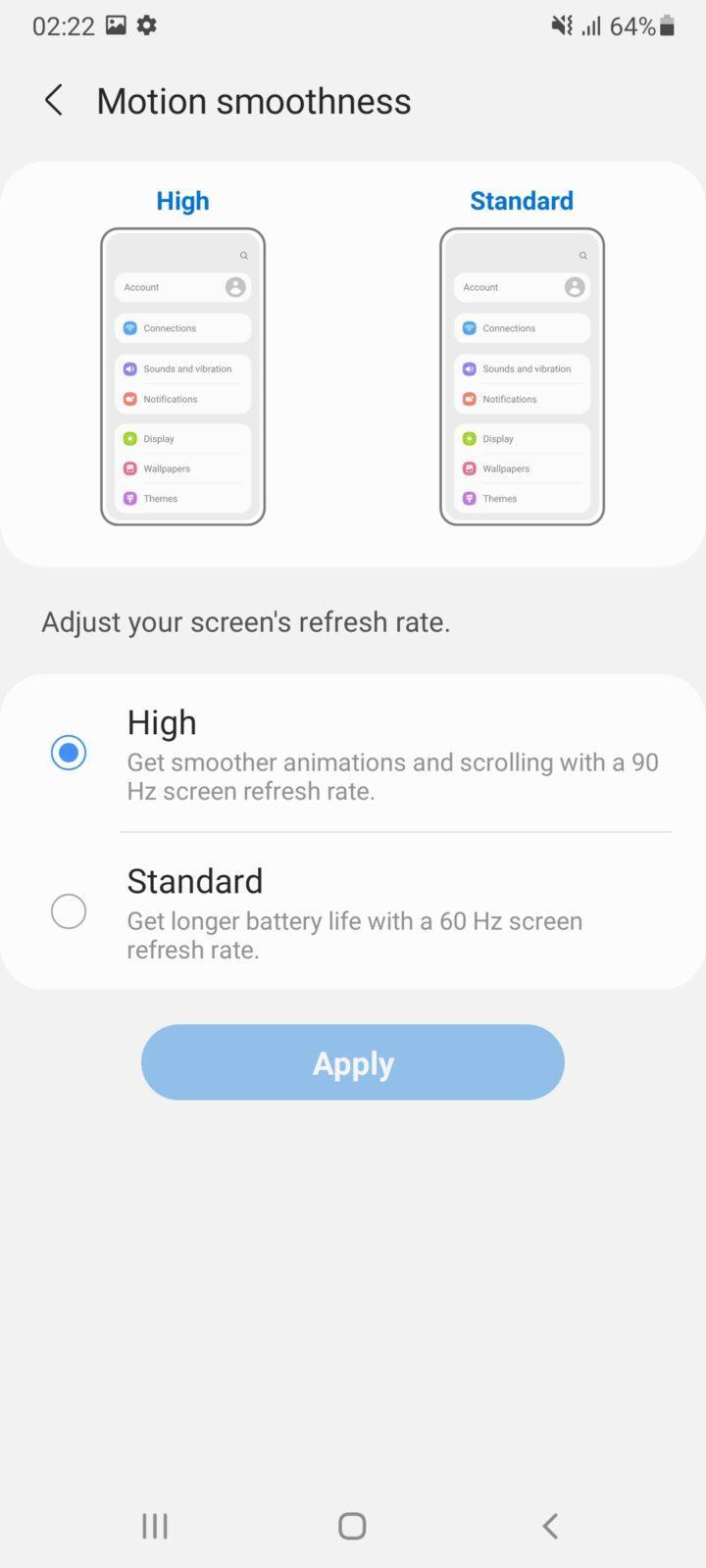 Обзор Samsung Galaxy A32 и A72: как делать надо и как не надо (screenshot 20210426 022233 settings 3)