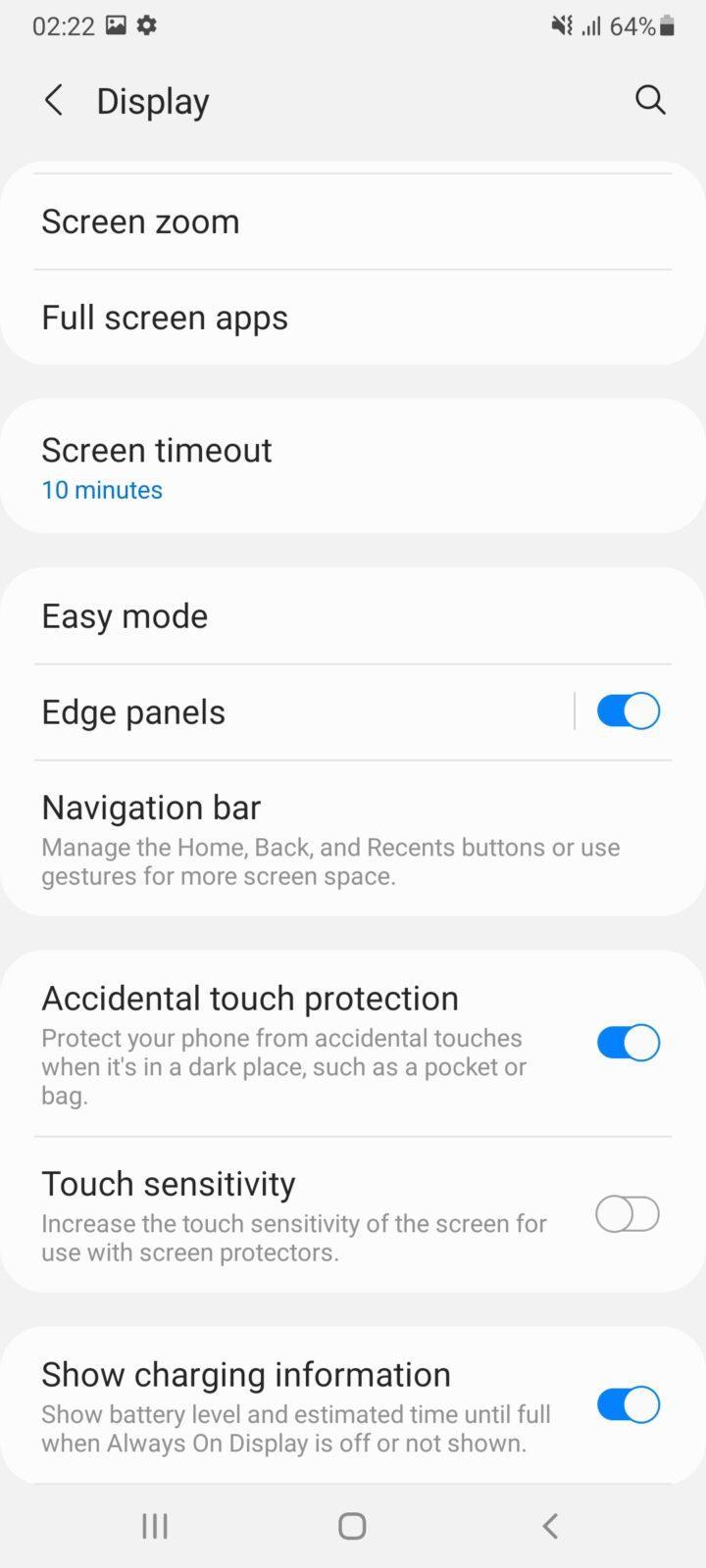 Обзор Samsung Galaxy A32 и A72: как делать надо и как не надо (screenshot 20210426 022238 settings 3)