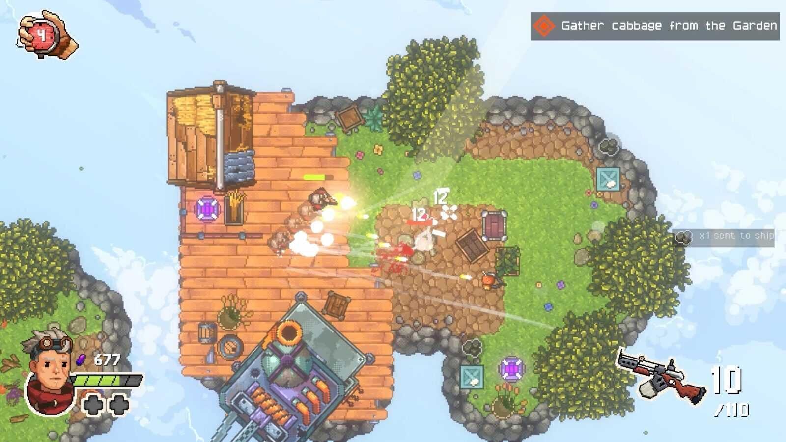 Игра Black Skylands появится на PC в раннем доступе 11 июня ()