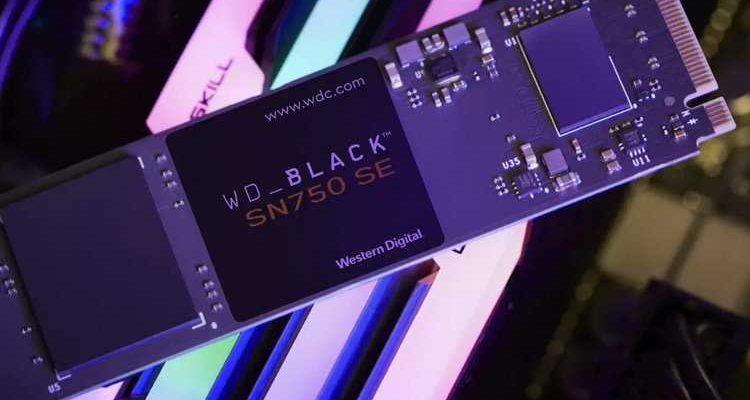 Western Digital представила бюджетне NVMe-накопители с поддержкой PCIe 4.0 (wdblacksn750se1)