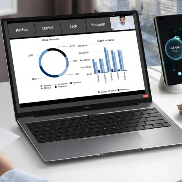 По данным Huawei 67% людей хотят работать вне офиса (123)