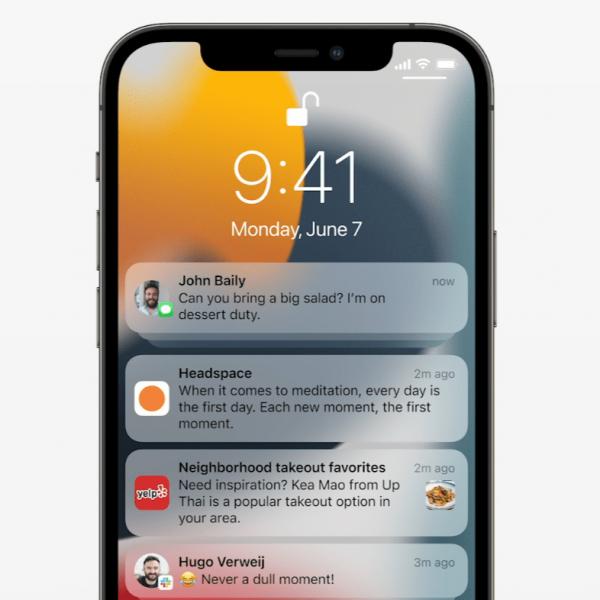 WWDC 2021: в iOS 15 будут обновлённые Уведомления (20210607171757 532673)