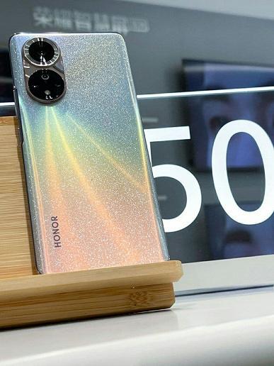 Honor 50 и 50 Pro на качественных живых фото в необычных цветах (4)