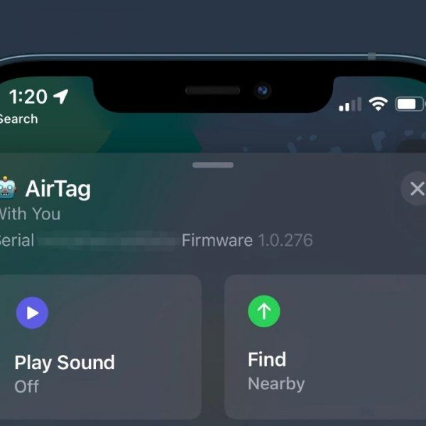 Apple немного переработала прошивку AirTag (42788 83136 07577c78 50a8 4ea5 8248 dac79a725f2b xl)