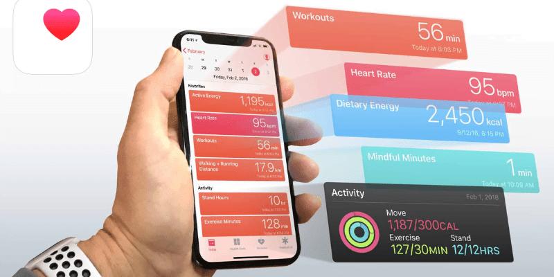 Apple позволит безопасно делиться данными о здоровье и покажет более подробную статистику (apple health)