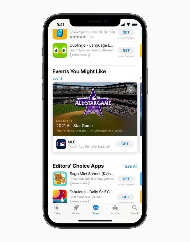 Apple представила новые технологии и инструменты для разработчиков приложений (apple iphone12pro appstore apps mlb 060721 carousel.jpg.large)