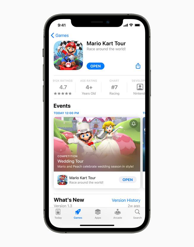 Apple представила новые технологии и инструменты для разработчиков приложений (apple iphone12pro appstore productpage mariokart 060721 carousel.jpg.large)