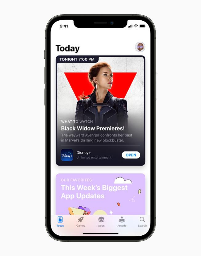 Apple представила новые технологии и инструменты для разработчиков приложений (apple iphone12pro appstore today folder main 060721 carousel.jpg.large)