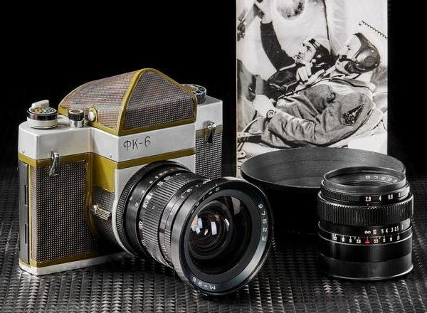 Фотокамеру Leica, которая была в космосе, и фоторужьё продадут на аукционе (cb985cb2 c85e 11eb 9e19 96000091f725 660)