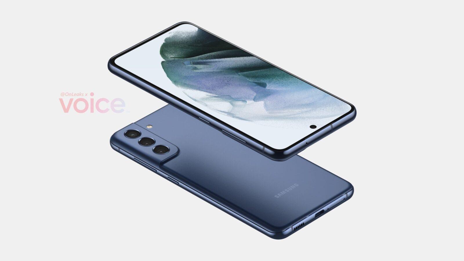 Смартфон Samsung Galaxy S21 FE слили в сеть перед запуском: дизайн, характеристики, цены (galaxy s21 fe render b scaled)