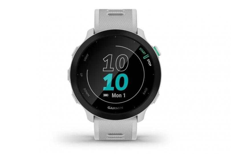 Garmin Forerunner 55: новые беговые часы с GPS (garmin forerunner 55 gear)