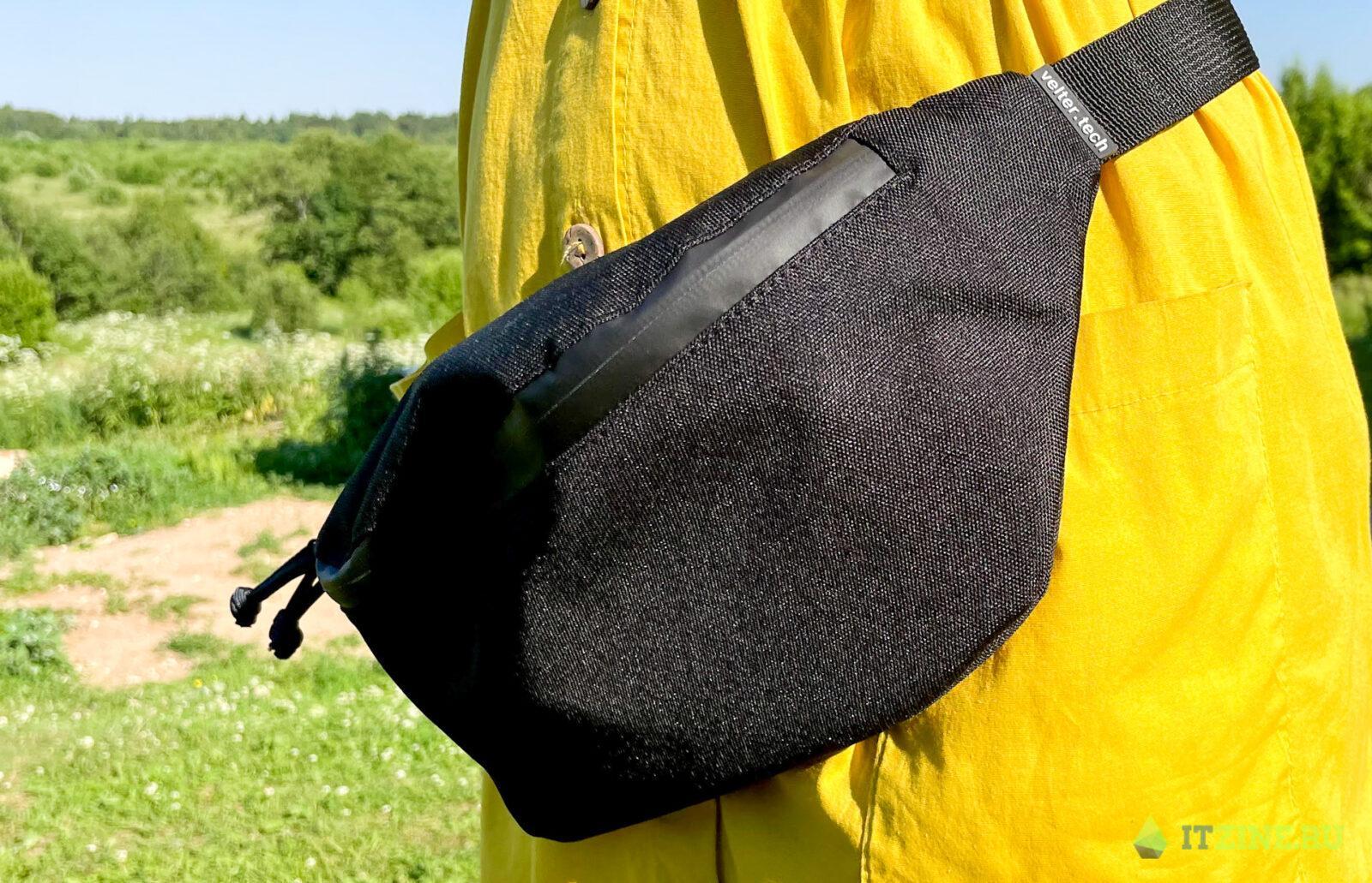 Обзор сумки Velter с клеткой Фарадея: блокирует все сигналы гаджетов (hp envy 05)