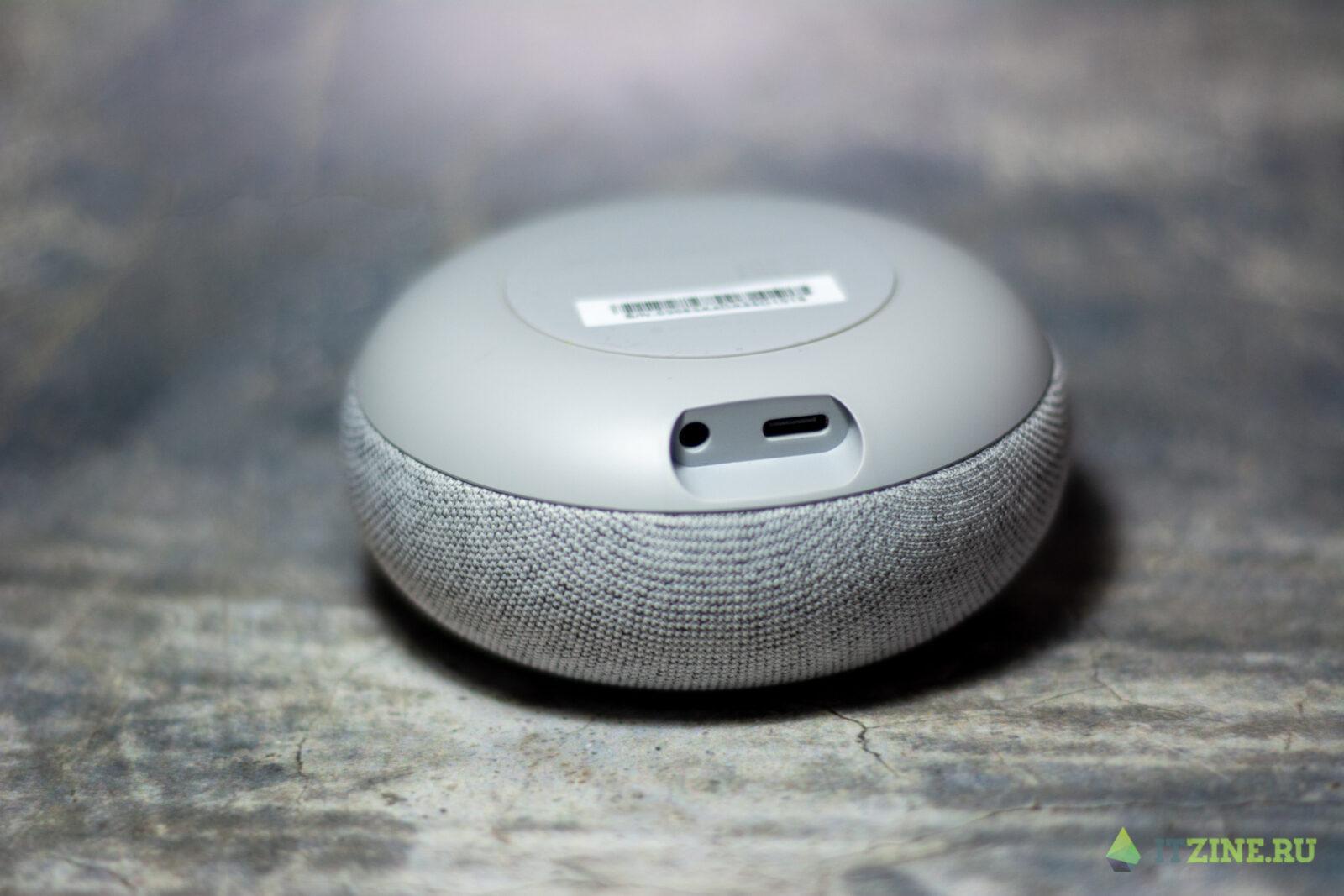 USB-C и 3,5 мм порт в Капсуле Мини