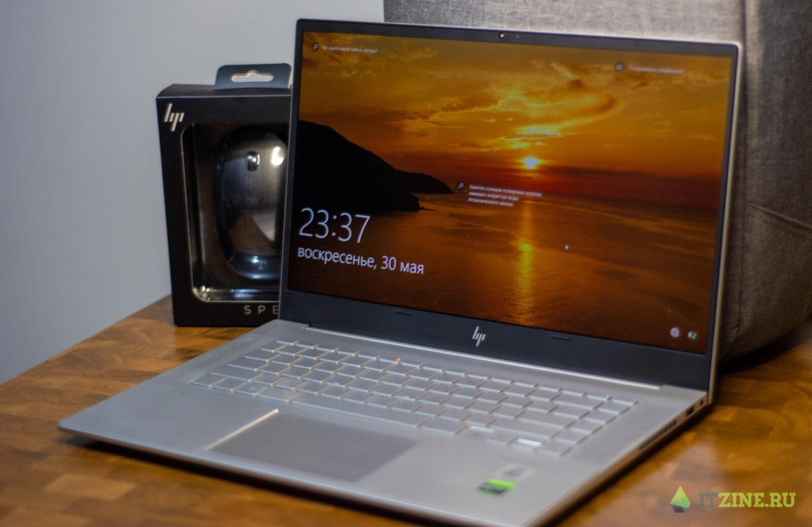 Обзор ноутбука HP Envy 15: мощь для создателей графического контента (hp envy 17)