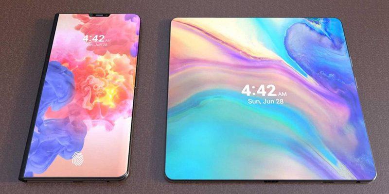 Google будет использовать дисплеи Samsung для своего складного телефона (huawei foldable 1)