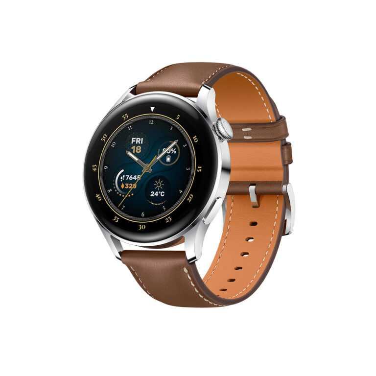 Утечка характеристик умных часов Huawei Watch 3 (huawei watch 3 leather 1 768x768 1)