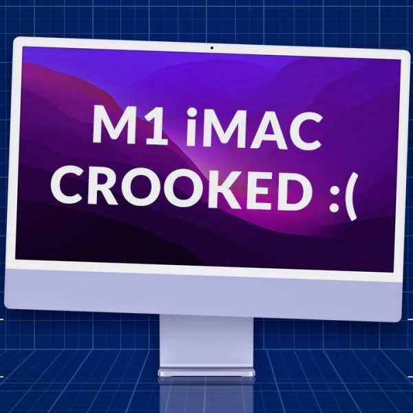 У нового Apple iMac 2021 неисправны подставки (imacm1screen)