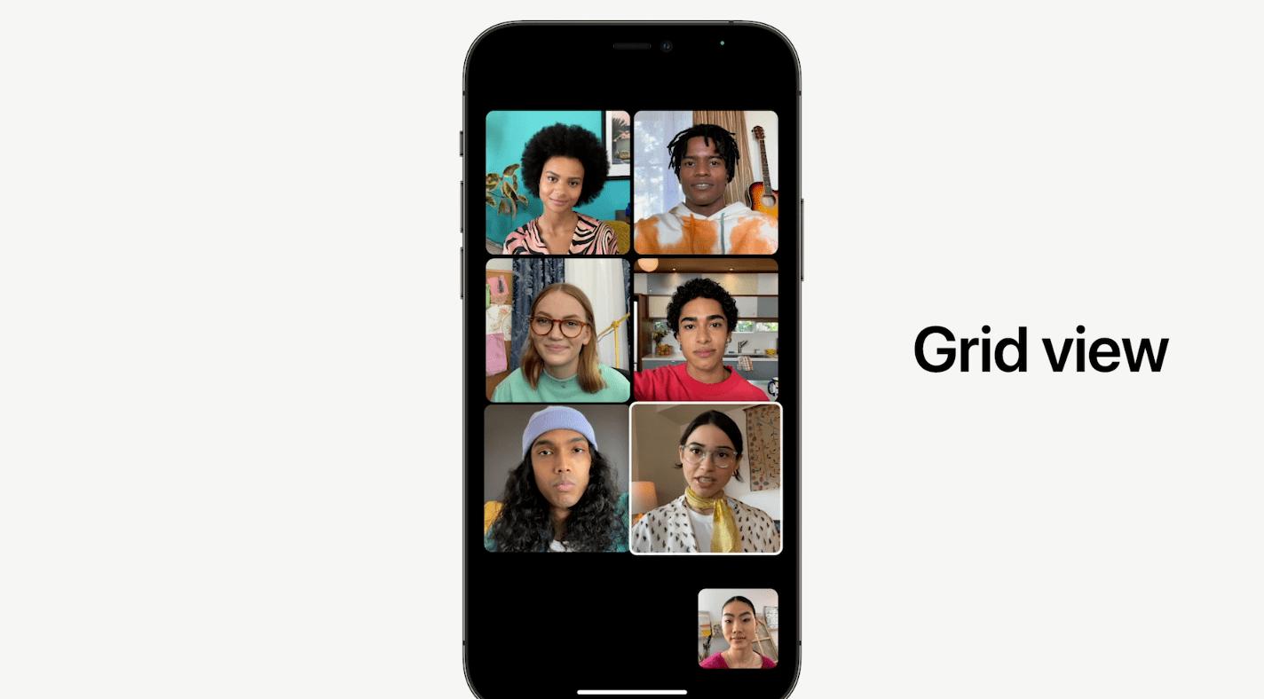 WWDC 2021: Apple обновила FaceTime в iOS 15 (image 3)