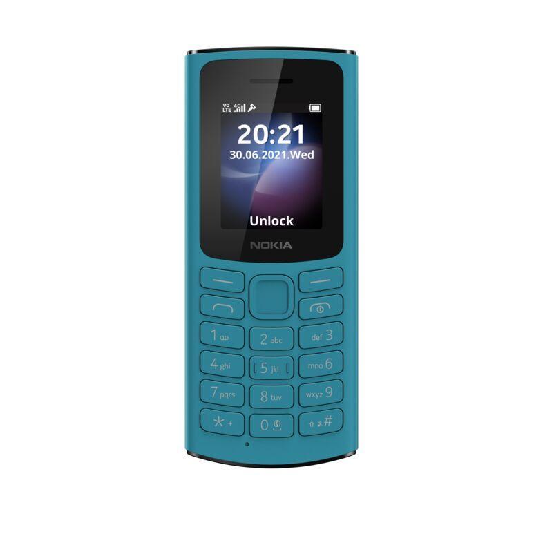 Nokia выпустила два кнопочных 4G-телефона Nokia 105 и Nokia 110 (large nokia 105 4g front ss)