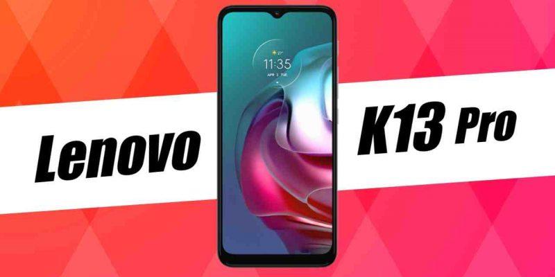 Lenovo скоро представит смартфон K13 Pro с Snapdragon 662 (lenovo k13 pro)