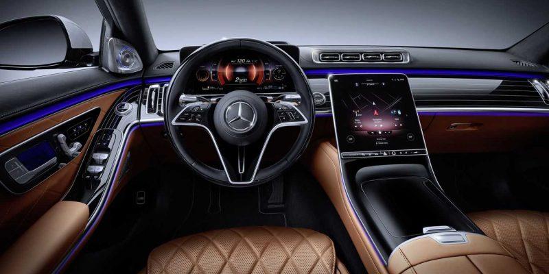 Mercedes-Benz интегрирует Apple Music с MBUX (mercedes s class17)