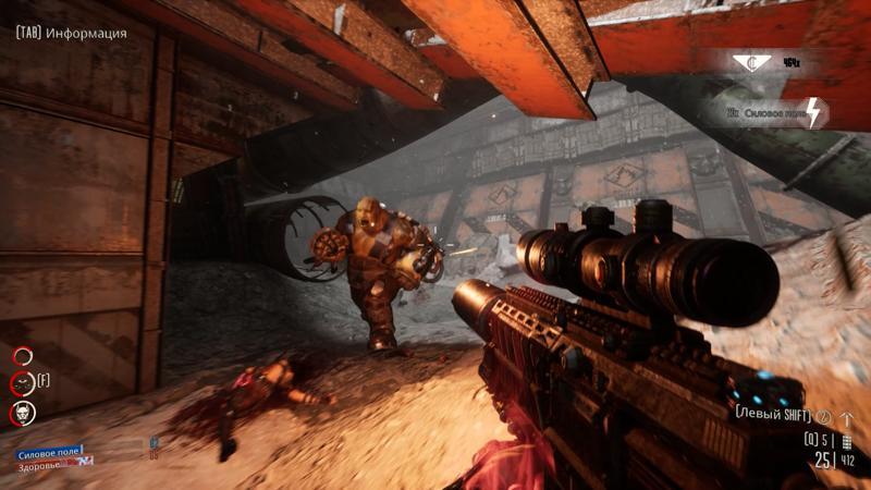 Обзор Necromunda: Hired Gun. DOOM Eternal по вселенной Warhammer 40.000! (necromunda hired gun 145)