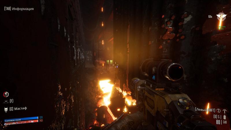 Обзор Necromunda: Hired Gun. DOOM Eternal по вселенной Warhammer 40.000! (necromunda hired gun 60)