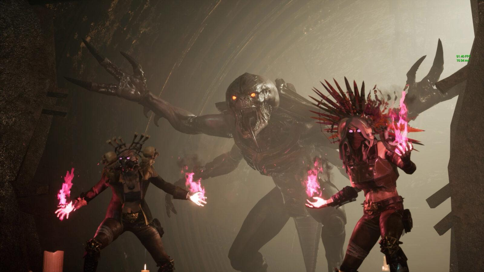 Обзор Necromunda: Hired Gun. DOOM Eternal по вселенной Warhammer 40.000! (necromunda hired gun4)