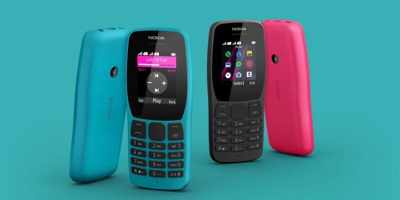 Nokia выпустила два кнопочных 4G-телефона Nokia 105 и Nokia 110 (nokia 110 og image)