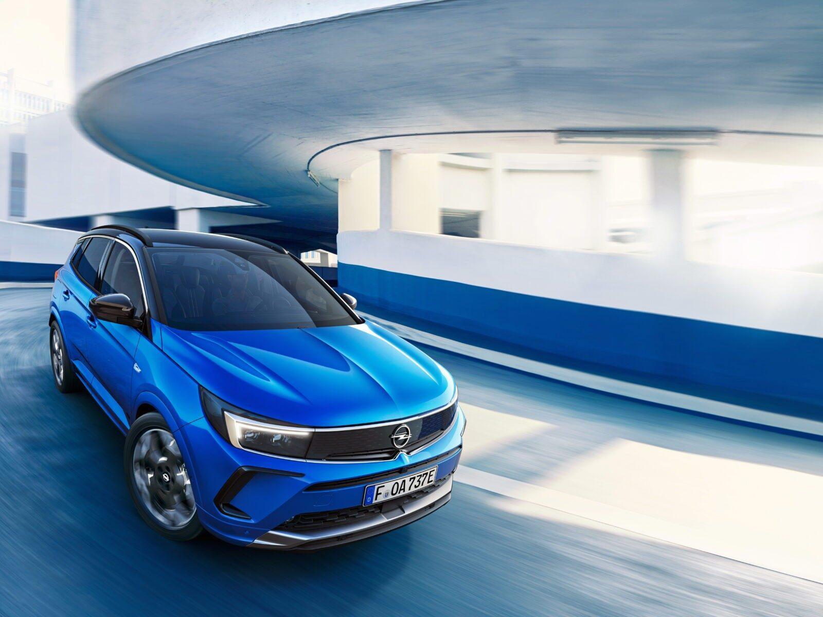Opel сделала новый электромобиль Grandland - смелый дизайн и передовые технологии (novyj opel grandland 3)