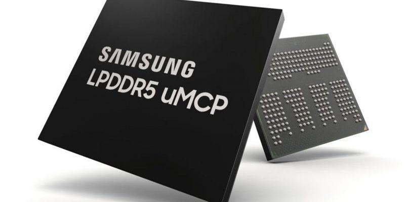 Samsung начала массовый выпуск модулей памяти LPDDR5 uMCP (samsung lpddr5 umcp 720)