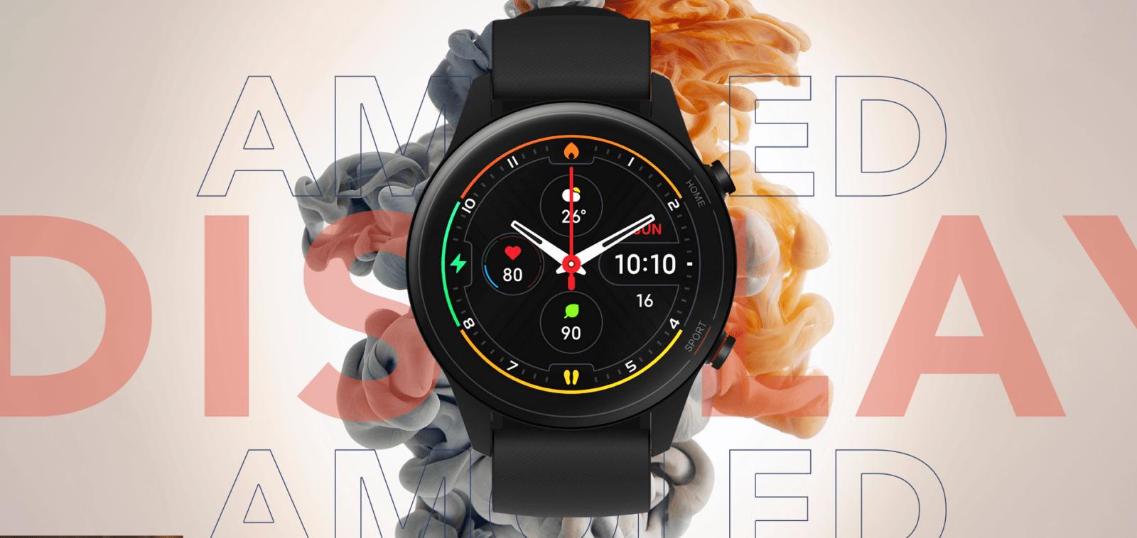 Xiaomi представила умные часы Mi Watch Revolve Active с ценой в 135 долларов