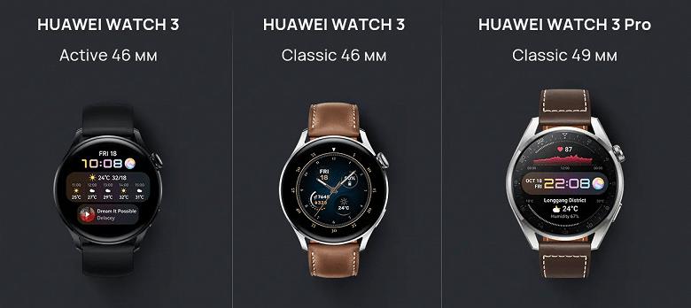 Часы Huawei Watch 3 поступили в продажу в России (screenshot shop.huawei.com 2021.06.23 11 27 57 large)