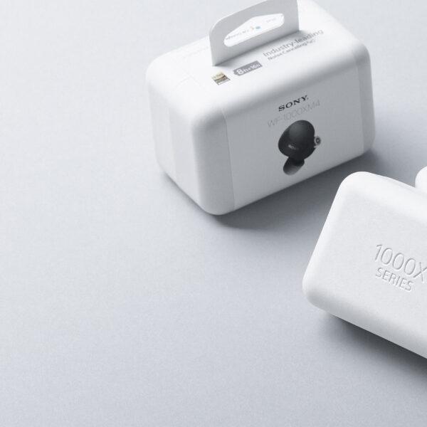 Компания Sony разработала экологически чистый бумажный материал (upakovka tws naushnikov sony wf 1000xm4)