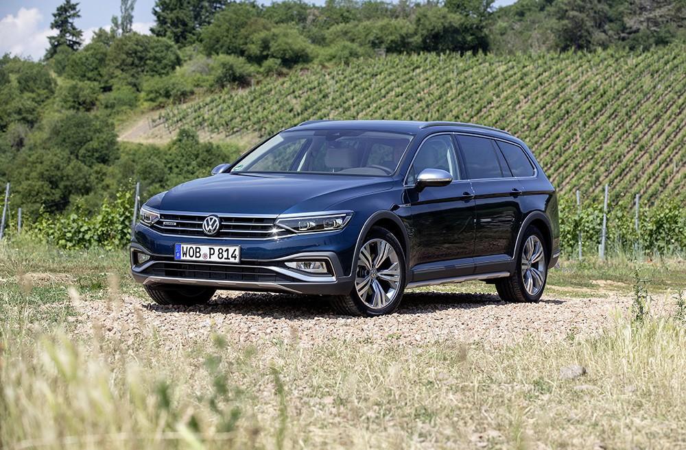 Volkswagen представил Passat Alltrack в России (volkswagen passat alltrack 1)