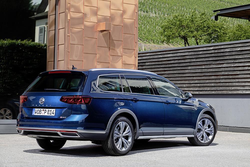 Volkswagen представил Passat Alltrack в России (volkswagen passat alltrack 2)