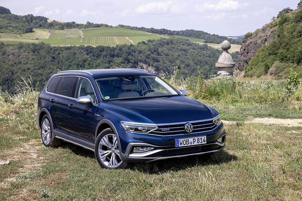 Volkswagen представил Passat Alltrack в России (volkswagen passat alltrack 3)