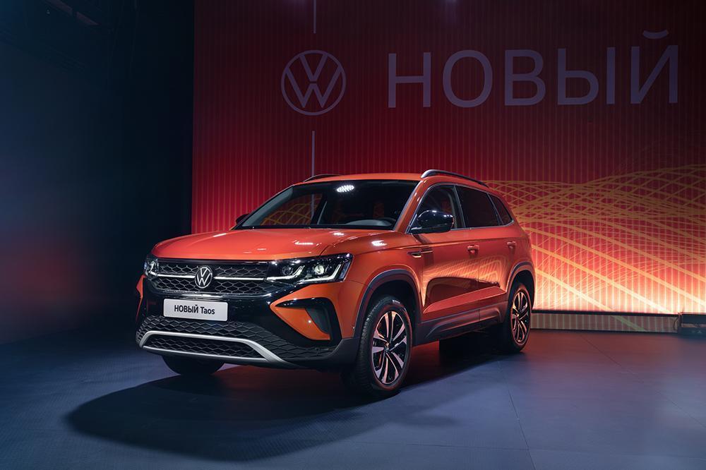 Volkswagen представил новый внедорожник Taos в России (volkswagen taos 1)