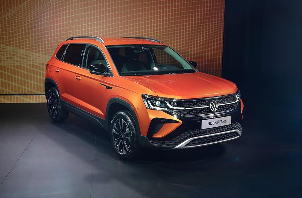 Volkswagen представил новый внедорожник Taos в России (volkswagen taos 4)