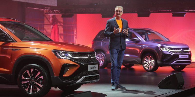 Volkswagen представил новый внедорожник Taos в России (volkswagen taos and thomas milz 2)