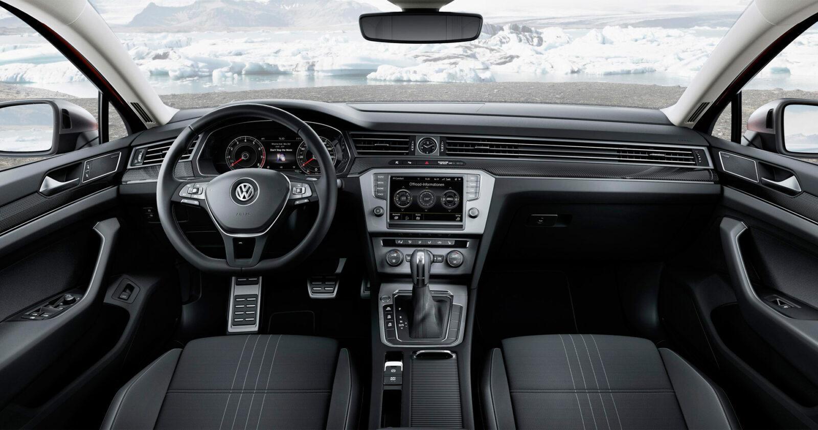 Volkswagen представил Passat Alltrack в России (vw passat alltrack 2 int)