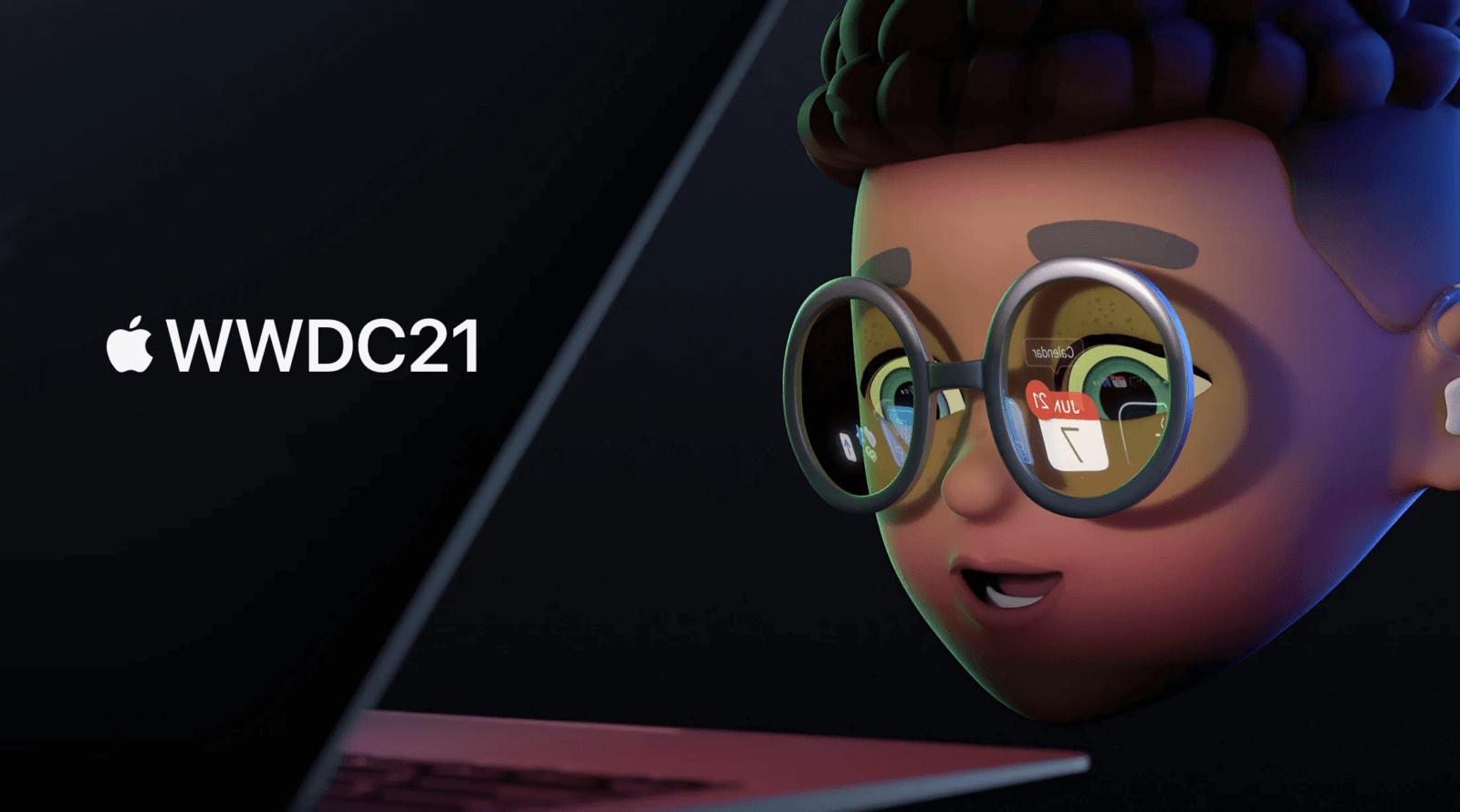 Apple начала конференцию WWDC 2021 (wwdc2021 glass)