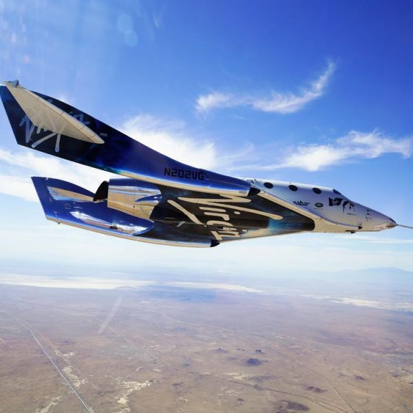 Virgin Galactic готовится к запуску космического корабля в воскресенье: на нём полетит основатель Ричард Брэнсон (756252117161133)