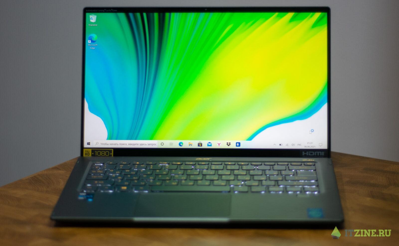 Обзор Acer Swift 5: идеальный ноутбук для работы из дома (acer swift5 19)