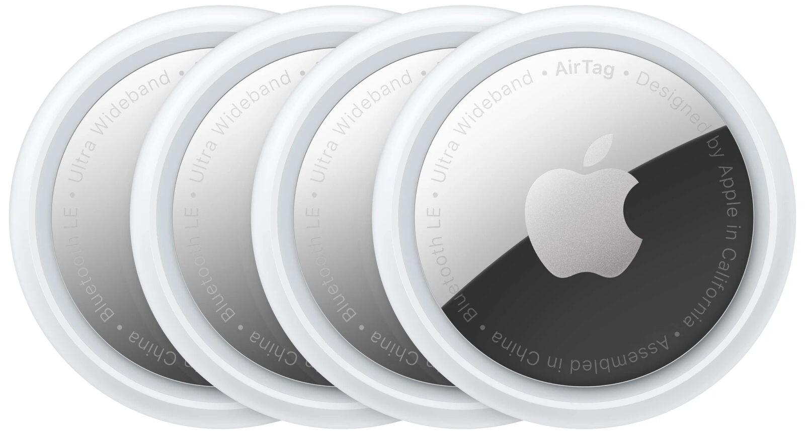 Обзор Apple AirTag: легко найти и невозможно потерять (apple airtags 4 stuks)
